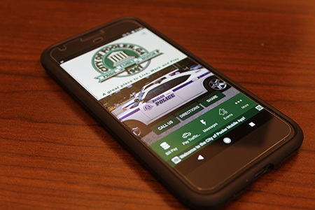 city of pooler app